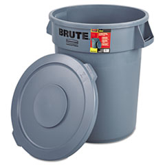 RCP863292GRA - Rubbermaid® Commercial Brute® Container Bulk Pack