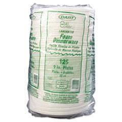 DCC9PWQR - Dart Quiet Classic® Laminated Foam Plastic Plates