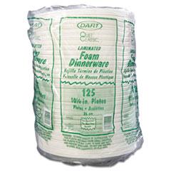 DCC10PWQR - Dart Quiet Classic® Laminated Foam Plastic Plates