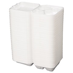 GNPSN243 - Foam Hinged Carryout Containers