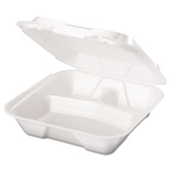 GNPSN203 - Foam Hinged Carryout Containers