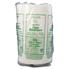 DCC10CPWQR - Dart Quiet Classic® Laminated Foam Plastic Plates