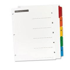 AVE11667 - Avery® Office Essentials™ Table N Tabs™ Dividers
