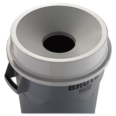 RCP3543GRA - Round Brute® Funnel Top