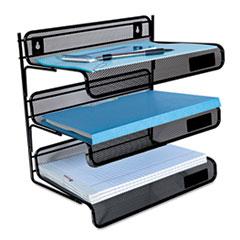 UNV20006 - Universal® Mesh Three-Tier Desk Shelf