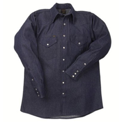 LAP160-DS-17-12-L - LAPCO1000 Blue Denim Shirts