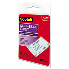 MMMLS851G - Scotch® Self-Sealing Laminating Pouches