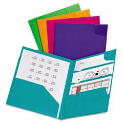 ESS99837 - Oxford® Divide It Up® Four-Pocket Poly Folder