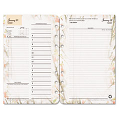 FDP3543814 - FranklinCovey® Blooms® Dated Daily Planner Refill