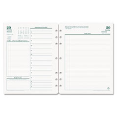 FDP3542714 - FranklinCovey® Original Dated Two-Page-per-Day Planner Refill