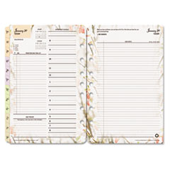 FDP3544414 - FranklinCovey® Blooms® Dated Daily Planner Refill