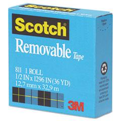 MMM811121296 - Scotch® Removable Tape