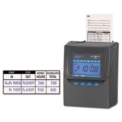 LTH7500E - Lathem® Time 7500E Totalizing Time Recorder