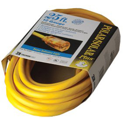 ORS172-01687 - Coleman Cable25 Polar Solar Plus Extension Cord 12/3
