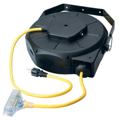 ORS172-04820 - Coleman Cable - Luma-Site® Cord Reels w/Lighted Tri Source®