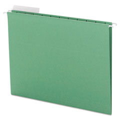 SMD64022 - Smead® Color Hanging Folders with 1/3 Cut Tabs