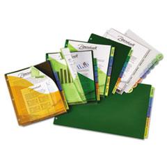 AVE11273 - Avery® Big Tab™ 3-Pocket Insertable Corner Lock™ Plastic Dividers