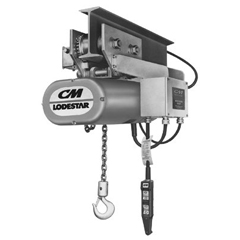 ORS175-3672 - CM Columbus McKinnonSeries 635 Lodestar Motor Driven Trolleys