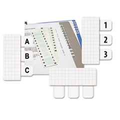 RTG31005 - Redi-Tag® Easy-To-Read Side-Mount Self-Stick Plastic Index Tabs