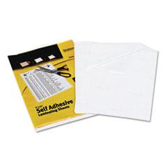 AVE73603 - Avery® Clear Self-Adhesive Laminating Sheets