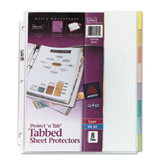 AVE74161 - Avery® Protect n™ Tab Top Loading Sheet Protector