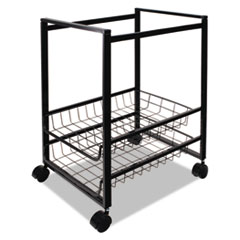 AVT34075 - Advantus® Mobile File Cart with Sliding Baskets