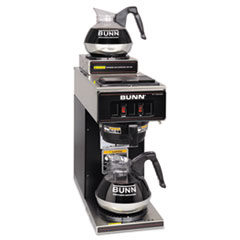 BUNVP172BLK - BUNN® Two-Station® Commercial Pour-O-Matic® Coffee Brewer