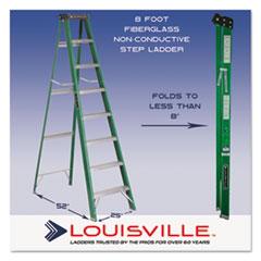 DADFS4008 - Davidson® #592 Fiberglass Step Ladder