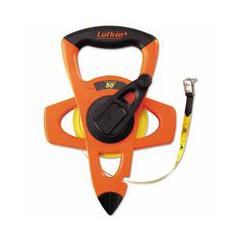 ORS182-FE050D - Cooper Hand Tools LufkinHi-Viz® Orange Reel Fiberglass Tapes