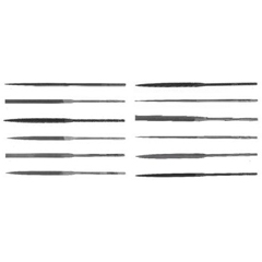 CHT183-37975 - Cooper Industries - X.F® Swiss Pattern Rectangular Needle Files
