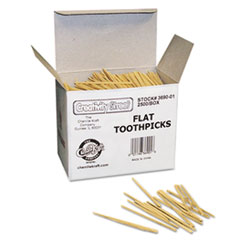 CKC369001 - Chenille Kraft® Flat Wood Toothpicks