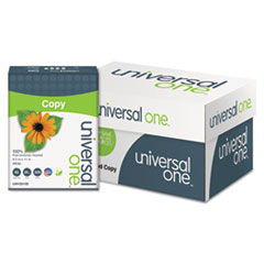 UNV20100 - Universal® 100% Recycled Copy Paper