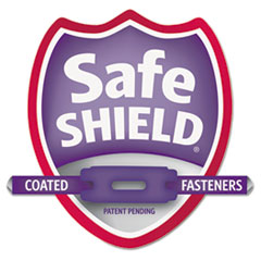 SMD13730 - Smead® 4-Section Pressboard Top Tab Classification Folders with SafeSHIELD™ Coated Fastener