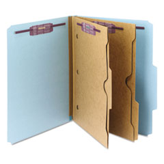 SMD14081 - Smead® 6-Section Pressboard Top Tab Pocket-Style Classification Folders with SafeSHIELD™ Coated Fastener