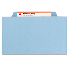 SMD19030 - Smead® 6-Section Colored Pressboard Top Tab Classification Folders with SafeSHIELD™ Coated Fastener
