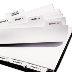 AVE11376 - Avery® Premium Collated Legal Dividers Bottom Tab