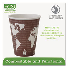 ECOEPBNHC8WD - Eco-Products® World Art™ Insulated Hot Cups