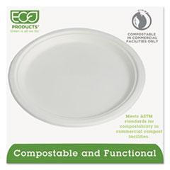 ECOEPP005PK - Eco-Products®10 Compostable Sugarcane Plates