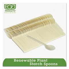 ECOEPS003PK - Eco-Products® Plant Starch Renewable Teaspoons