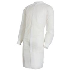 MON34381101 - McKessonMedi-Pak® Knee Length Long Sleeve Lab Coat