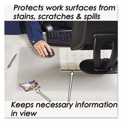 AOP6040MS - Artistic® KrystalView™ Desk Pad with Microban®