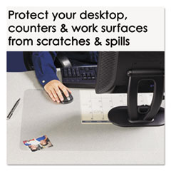 AOP60240MS - Artistic® KrystalView™ Desk Pad with Microban®