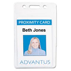AVT75451 - Advantus® Proximity ID Badge Holders