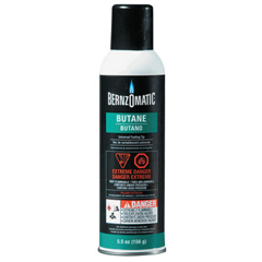 BRZ189-1764293 - BernzOmaticDisposable Butane Cylinders, 5 oz, Butane