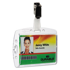 DBL800519 - Durable® ID/Security Card Holder Sets
