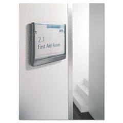 DBL497737 - Durable® Click Sign Holder For Interior Walls