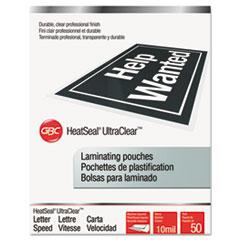 GBC3745091 - GBC® Letter and Legal Size Premium Laminating Pouches