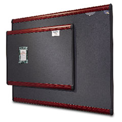 QRTB447M - Quartet® Prestige™ Gray Diamond Mesh Bulletin Board