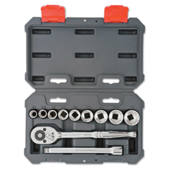 ORS192-CSWS6 - Cooper Hand Tools Crescent11 Piece Drive Socket Wrench Set, 3/8 In, SAE