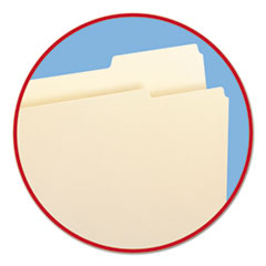 SMD10385 - Smead® Manila Guide Height Systems File Folders